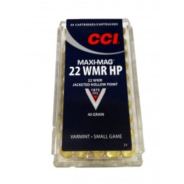 Naboji CCI .22 WMR Maxi Mag...
