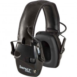 Glušniki Aktivni Impact Sport Črni