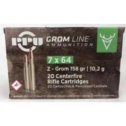 Naboji 7x64 Z-GROM 10,2g...
