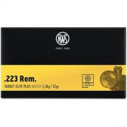 Naboji .223 Rem Target Elite Plus 3,36g/52gr  RWS (20)