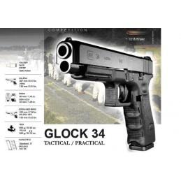 Pištola Glock 34 Gen.4, 9x19