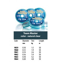 Laks Team Master 0,12mm 50m...