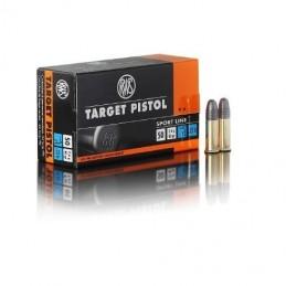 Naboji .22 Target pistol...