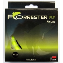 DAM Forrester fly Fly line