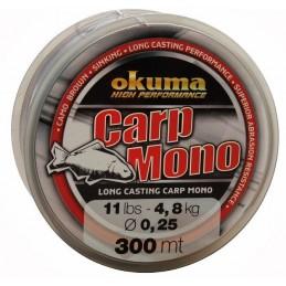 Laks Okuma Carp mono 300m 0,40