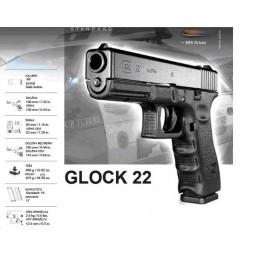 Pištola Glock G22 Gen. 4, 9x19