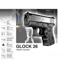 Pištola Glock 26 Gen 4 cal...