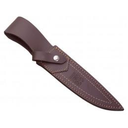 Nož 14cm Rog, Ročno obdelan