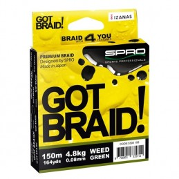 Vrvica Got Braid! Green...