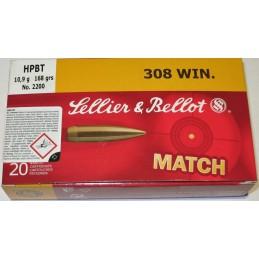Naboji .308 HPBT MACTH...