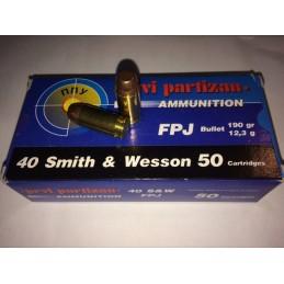 Naboji .40 S&W FPJ 12,3g...
