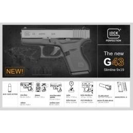 Pištola Glock 43 Gen.5, 9x19