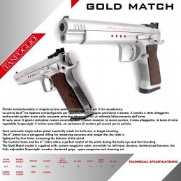 Pištola Tanfoglio Gold...