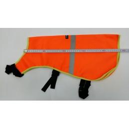 Odsevna obleka za psa XL